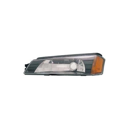 Dorman 1631207 Turn Signal Light, Clear & Amber Lens, Plastic lens