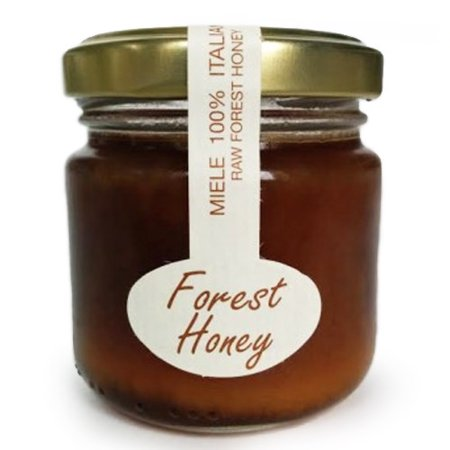 Raw Italian Honey by Mitica - Forest Honey  (4.23 ounce)