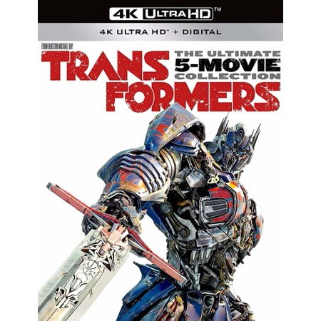 transformers the ultimate five movie collection 4k ultra hd blu