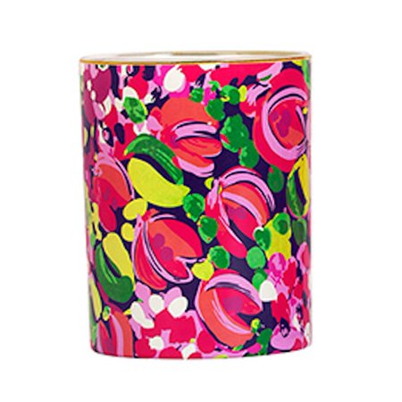 - Lilly Pulitzer - 8 oz Glass Candle - Wild Confetti
