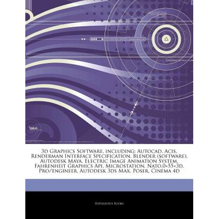 Articles on 3D Graphics Software, Including : AutoCAD, Acis