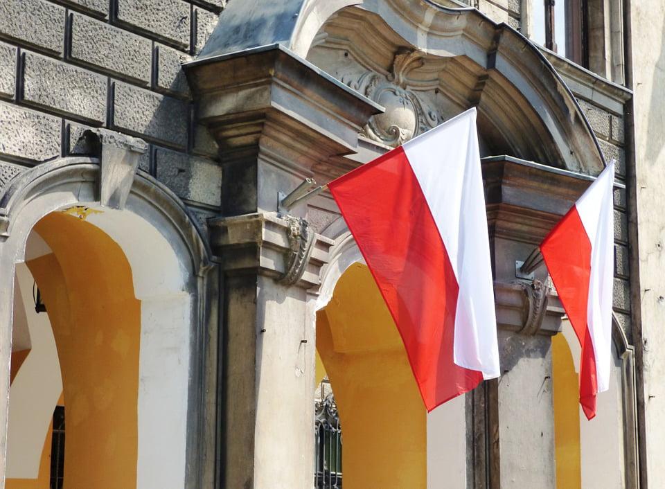 LAMINATED POSTER Poland Flag Of Poland The Nation Polish Flag Flag Poster Print...