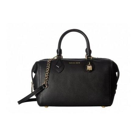 da28b2863db593 Michael Kors Grayson Leather Satchel - Black - 30F7GGYS3L-001 - image 1 of  1 ...