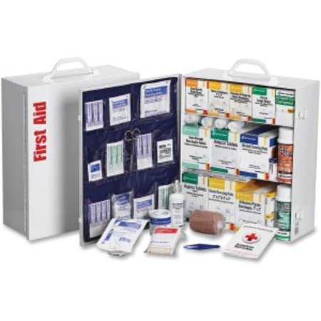 First Aid Only 3 Shelf 100 Person First Aid Kit   1092 X Piece S  For 100 X Individual S    16 5   X 15   X 5 5     Metal Case  247Op 35