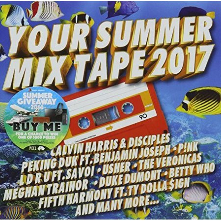 Your Summer Mix Tape 2017 / Various (CD)](Halloween Mix Songs 2017)