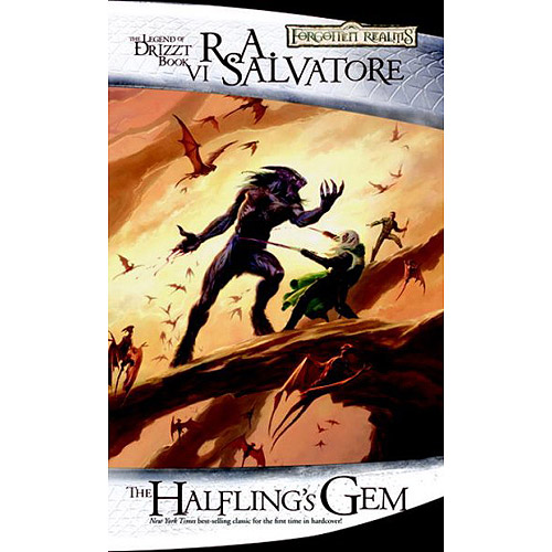 The Halfling's Gem: The Legend of Drizzt Book 6