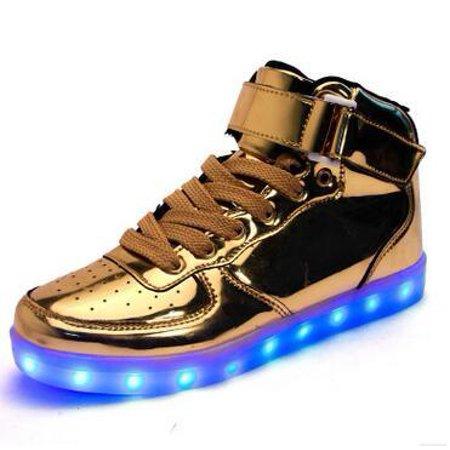 High Top Light UP Shoes - Walmart.com 504be7af1da3