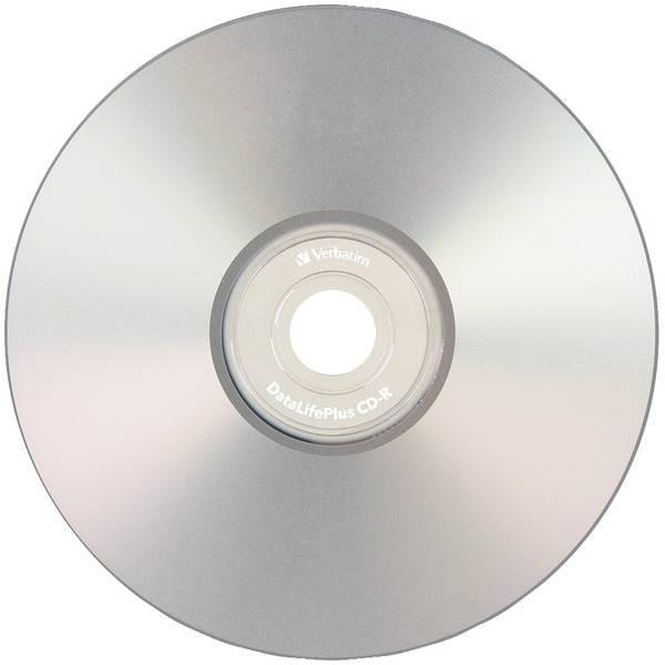 80-Minute/700MB 52x DatalifePlus Silver Inkjet Printable CD-R