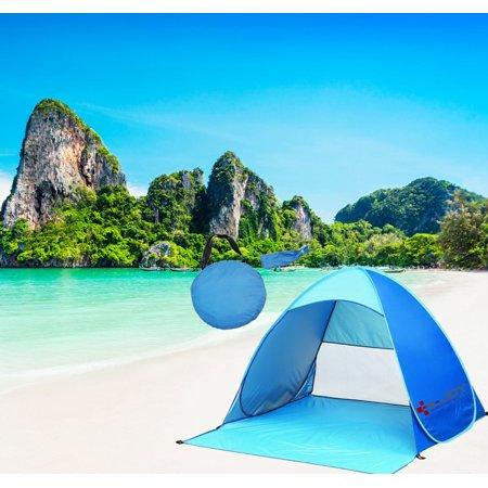 Beach tent Pop Up Portable Beach Tent Canopy UV Sun Shade Shelter Outdoor Camping Fishing Cabana Mesh