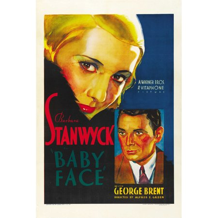 Baby Face (1933) 11x17 Movie Poster (Toddler Movies)