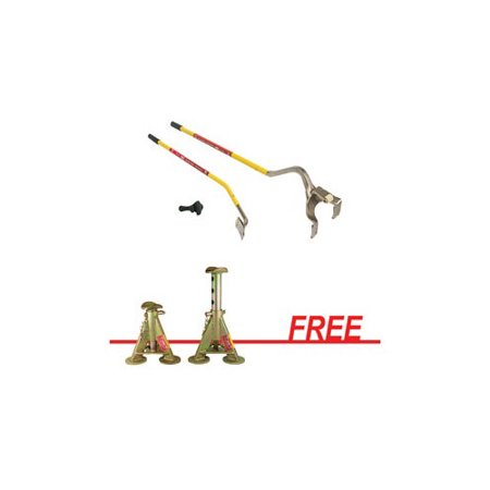 Image of AME International 71050JS Golden Buddy Tire Mounting Tool & 5-Ton Jack Stands