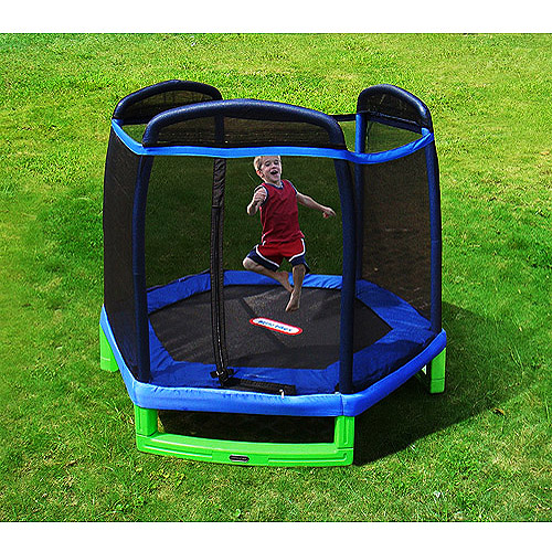 Little Tikes 7' Trampoline And Enclosure Combo