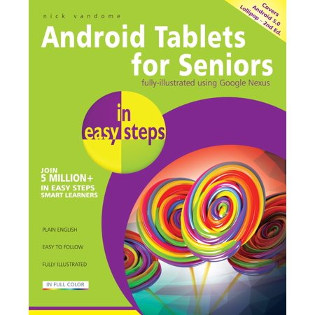 Android Tablets for Seniors in easy steps, 2nd edition - - Cut It Halloween Edition Android
