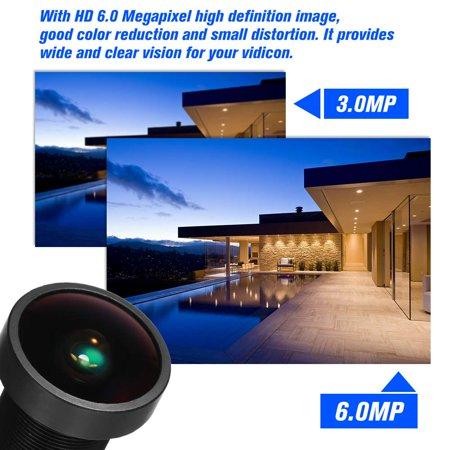 """Starlight Lens 2.8mm CCTV MTV Board Lens HD 6.0 Megapixel M12 Mount Lens 2.8 mm 1/2.5"""" Image Format Aperture F1.4 for HD CCTV IP Cameras - image 4 of 7"""