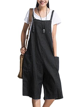 bc5166cdbf3 Product Image Womens Jumpsuits Strap Dungaree Overalls Harem Jeans