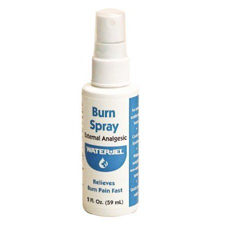 Burn Relief Formula Pain Relieving Spray with Lidocaine, 2 oz 3 Bottles MS-46410 ()