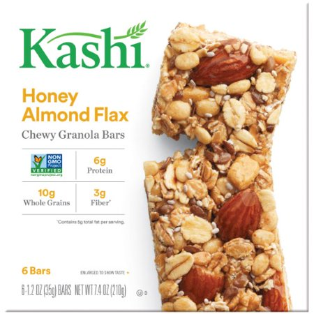 Almond Pastries (Kashi TLC Chewy Granola Bar Honey Almond)