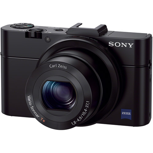 Sony Black Cyber-shot RX100 II Advanced Digital Camera with 20.2 Megapixels and 3.6x Optical Zoom