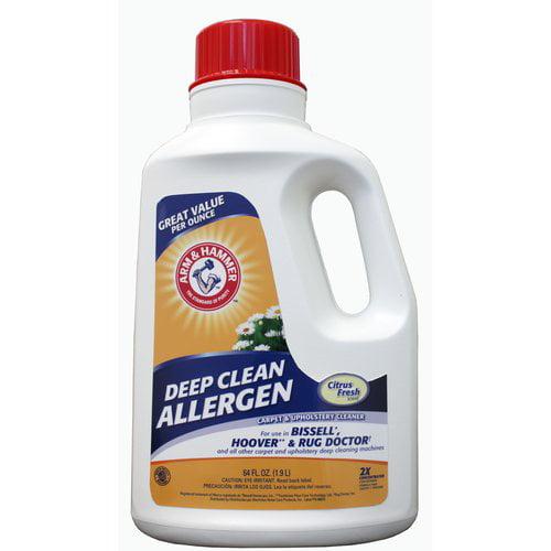 Arm & Hammer Deep Clean 2x Formula Carpet Cleaner, 64 oz