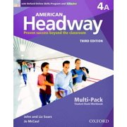 American Headway Third Edition: Level 4 Student Multi-Pack a