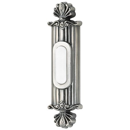 BSSO-AP Surface Mount Straight Ornate Lighted Push Button, Surface Mount Straight Ornate Lighted Push Button from the Designer Surface collection By Craftmade From USA