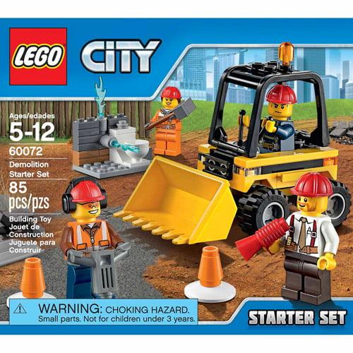 Lego City Demolition man  mini figure FREE POST