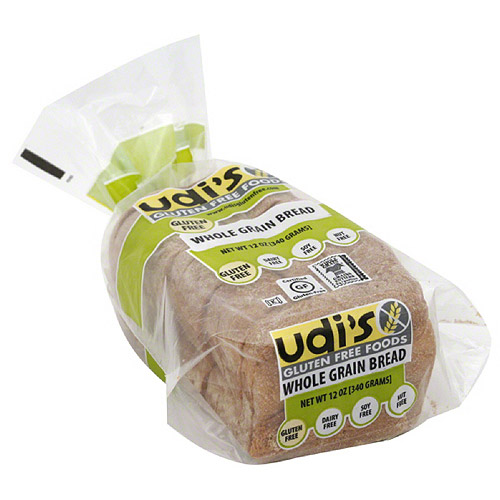 ***Discontinued by KEHE***Udi's Gluten Free Whole Grain Bread, 12 oz, (Pack of 8)
