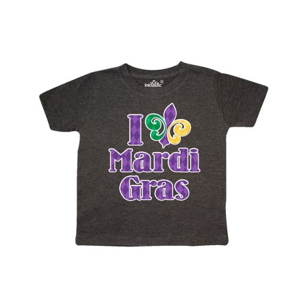 I Love Mardi Gras Toddler T-Shirt for $<!---->