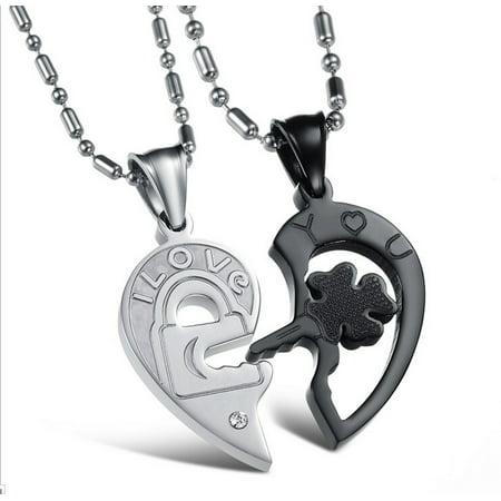 Titanium Heart Pendant -