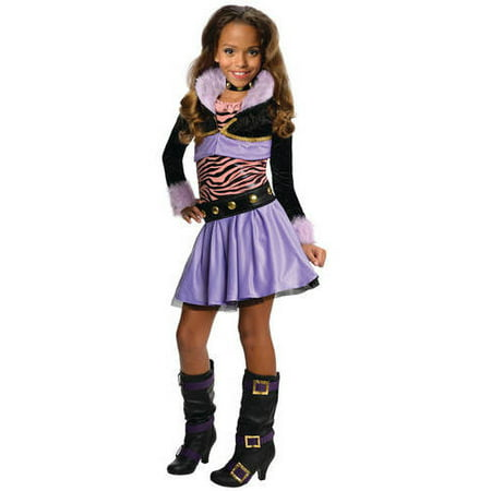 monster high clawdeen wolf deluxe child halloween costume - Clawdeen Wolf Halloween Costume