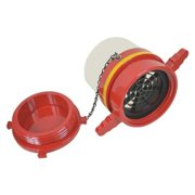 MOON AMERICAN 293-604525 Dry Hydrant Strght Adaptr,4-1/2In Female