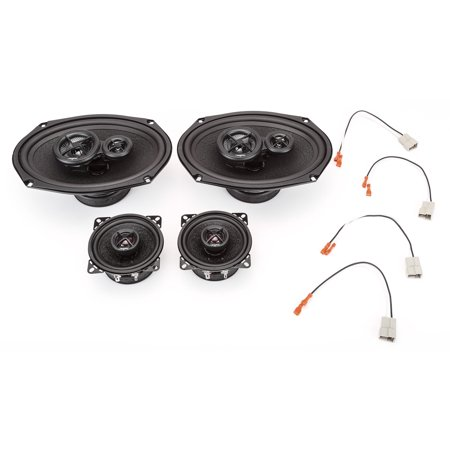 - 1988-1989 Oldsmobile Cutlass Supreme Complete Premium Factory Replacement Speaker Package by Skar Audio