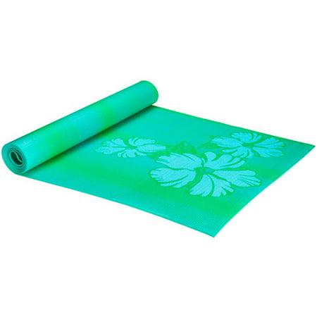 Altus 24x68 Hibiscus Yoga Mat Walmart Com