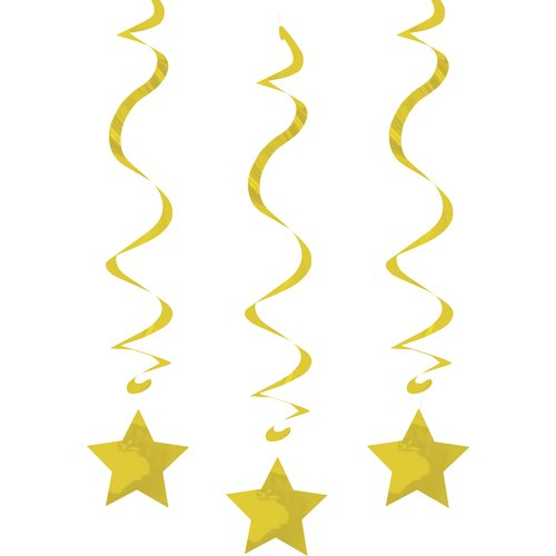 Way to Celebrate Dizzy Dangle, Gold