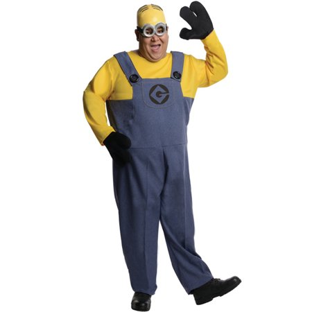 Plus Size Ho Costumes (Minion Dave Plus Size Costume)