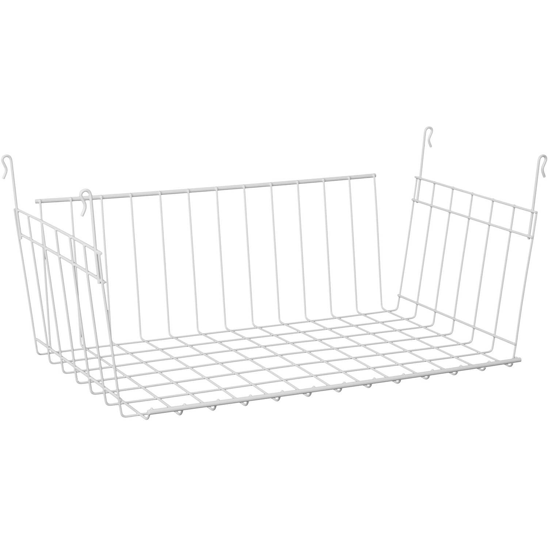 ClosetMaid Hanging Basket, White