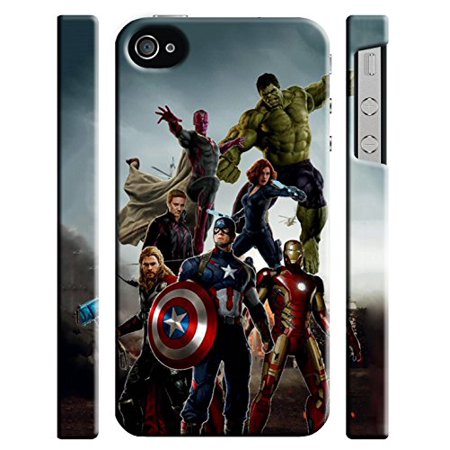 Ganma Avengers Age Of Ultron Case For iPhone 4 4s Hard Case Cover - Walmart.com