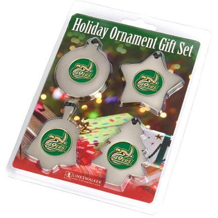 LinksWalker LW-CO3-NCC-ORN4PK North Carolina Charlotte 49ers-Ornament Gift Pack - image 1 of 1