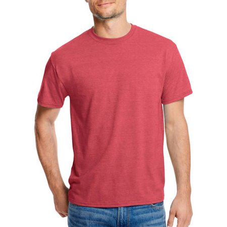 323127c3bb55e Hanes - Men s X-Temp with Fresh IQ Short Sleeve T-Shirt - Walmart.com