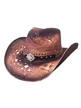 Bullhide Magnificent - Straw Cowgirl Hat XLarge