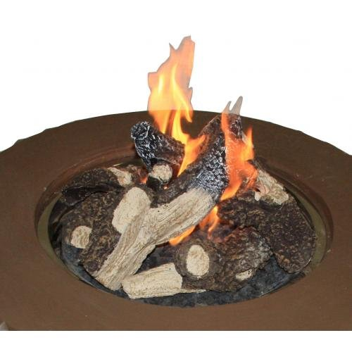 The Outdoor GreatRoom Company Crystal Fire Pit Table