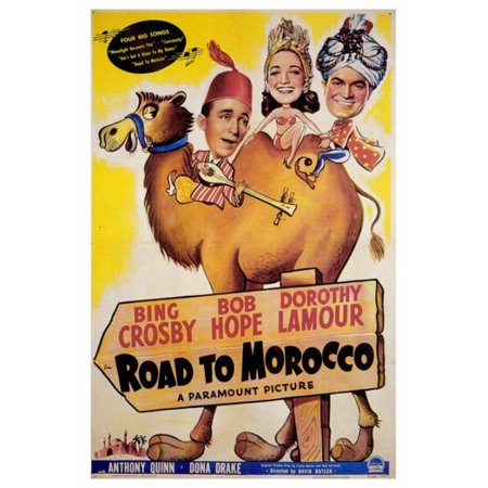 Posterazzi MOVGF6298 The Road to Morocco Movie Poster - 27 x 40 in. - image 1 de 1
