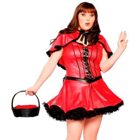 Sexy Dark Little Red Riding Hood Halloween Costume (Little Red Riding Hood Halloween Jokes)
