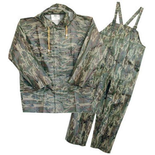Boss 3-Pc Camouflage Rainsuit