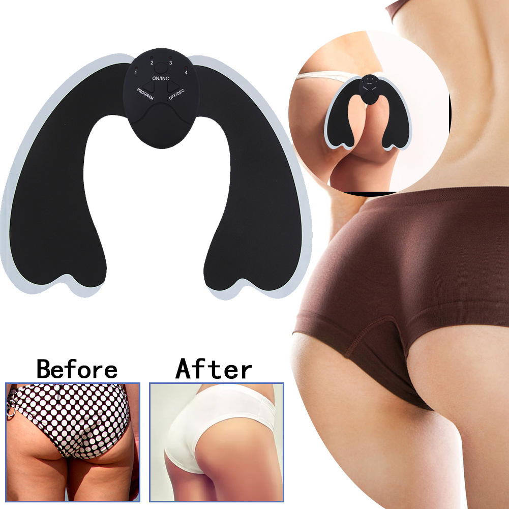 CGBF-Electric Hips Trainer EMS Stimulator Buttocks Muscle Smart Wearable Buttock Toner Peach Hip Buttocks Curve Shaping Hips Muscle Stimulator Massager