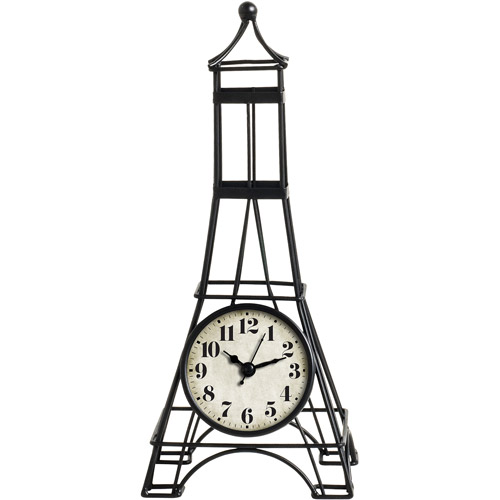 Better Homes And Gardens Eiffel Tower Shaped Table Clock