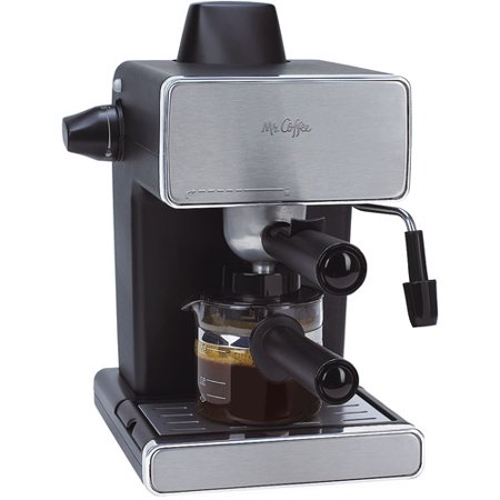 Mr Coffee Espresso Maker Stainless Steel And Black Bvmc Ecm260