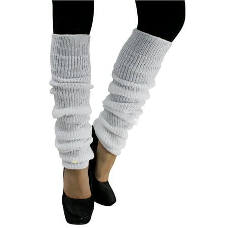 Long Thick Knit Dance Leg Warmers (80s Leg Warmers)