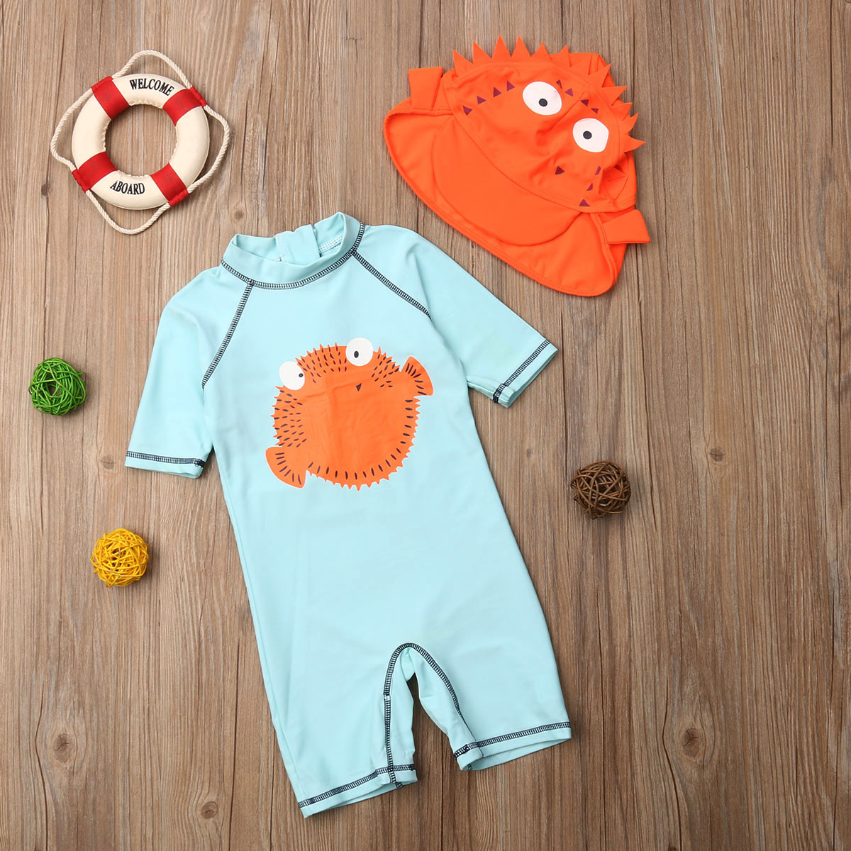 Kuner Baby Cotton Warm 2 Piece Cartoon Clothing Set Long Sleeve Sweatshirts and Pant Outfit for Boys Girls