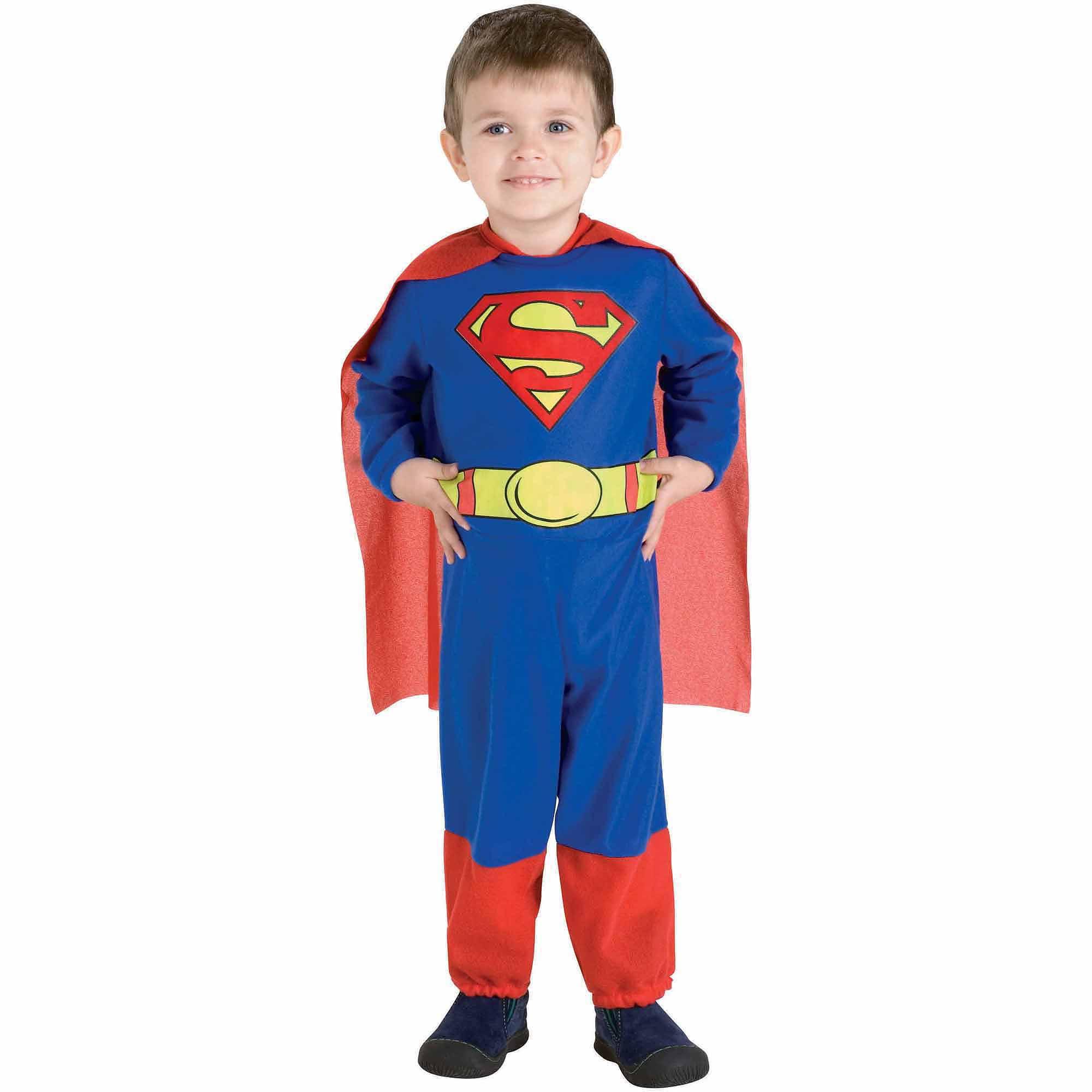 sc 1 st  Walmart & Superman Toddler Halloween Costume Size 3T-4T - Walmart.com